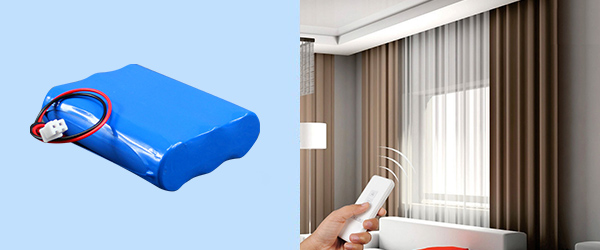 electric curtain battery